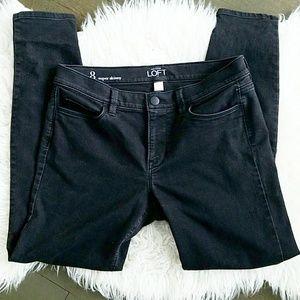 Ann Taylor LOFT Super Skinny black jeans